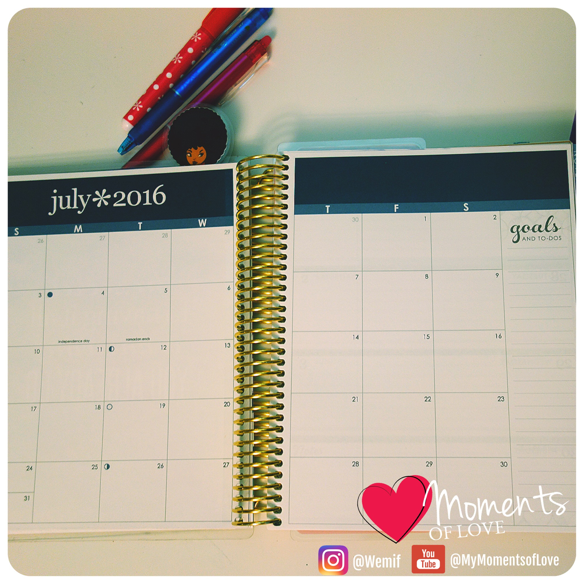 Month Outlook LifePlanner
